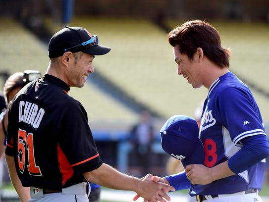 """It takes a lot of courage for him to do that,"" Ichiro"