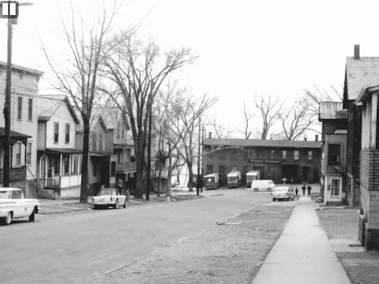 Lower Cherry Street, 1958