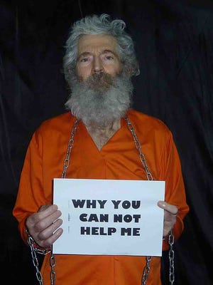 This undated handout photo provided by the family of Robert Levinson, shows retired FBI agent Robert Levinson in a photo the family received in April 2011.