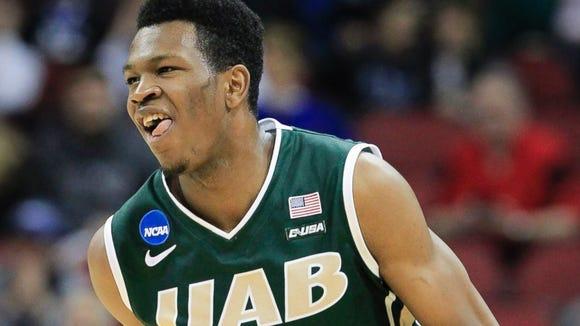 UAB freshman William Lee hit the game-winning shot to beat Iowa State in the NCAA Tournament.