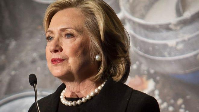 Hillary Clinton in November 2014