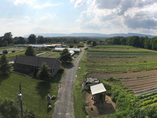 A look at Taliaferro Farms in New Paltz. The farm hosts dinners that use produce straight from the fields.