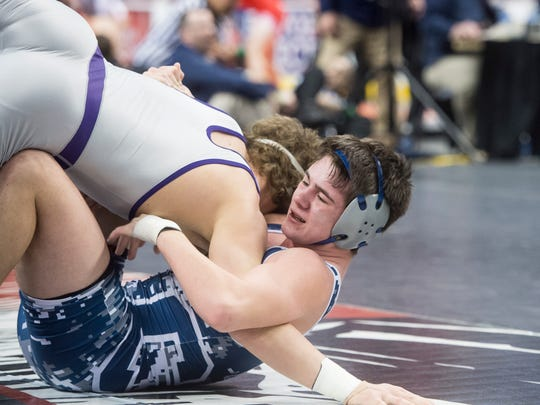 Chambersburg's Luke Nichter, after three top six placings in states, has eyes on gold in his senior season.