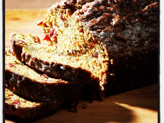 Thanksgiving side dish recipe: Cranberry carrot bread