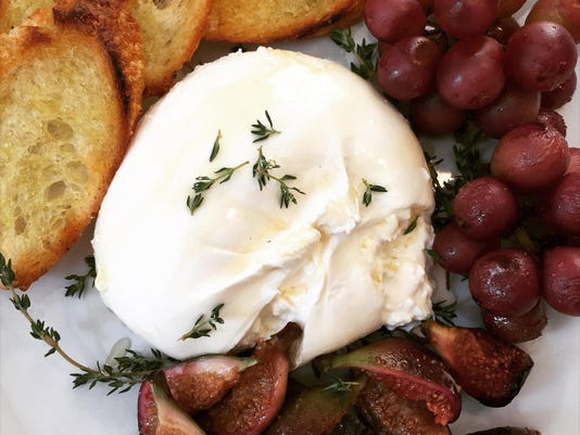 Test Kitchen recipe: Fall in love with burrata paired with fruit