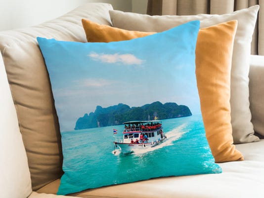 Turn those vacay pics into pillows, magnets and more