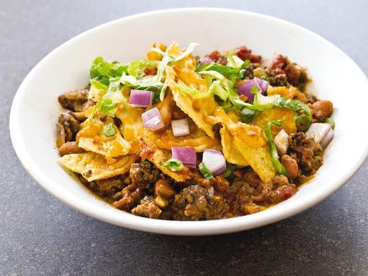 Food Column ATK Spicy Beef Taco Bake