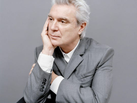 David Byrne performs Sept. 12 at the Landmark Theatre in Syracuse.