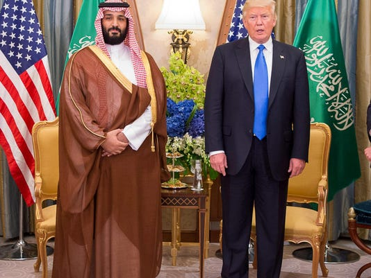 Trump shrugs at Khashoggi murder, signals he won't punish Saudi Arabia or its crown prince