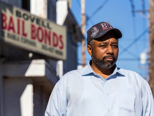 Robert Bovell, owner of Bovell Bail Bonds in Little