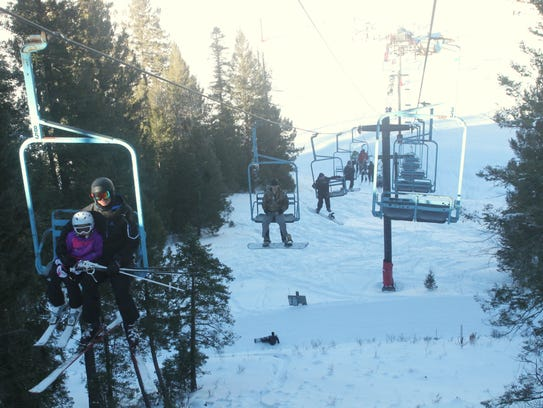 In this file photo, Ski Cloudcroft opened shop in December