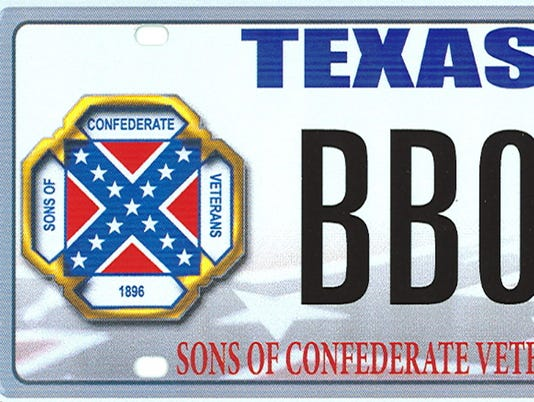 Supreme Court license plates