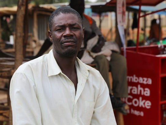 Willys Otieno of Kogelo, Kenya, said his daughter lost
