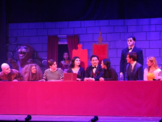 "Toms River High School North's production of ""The Addams"