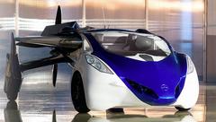 Flying car: Looks cool, if still 'blue sky'