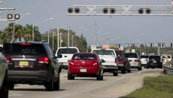 Colonial Boulevard's near constant congestion is among traffic issues looming on the horizon as Lee County commissioners consider setting a new impact fee rate.