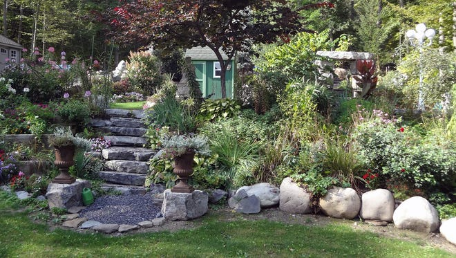 The Garden Conservancy's Open Days Program on Saturday will allow visitors to see five private gardens, including Heron Ridge in Trumansburg.