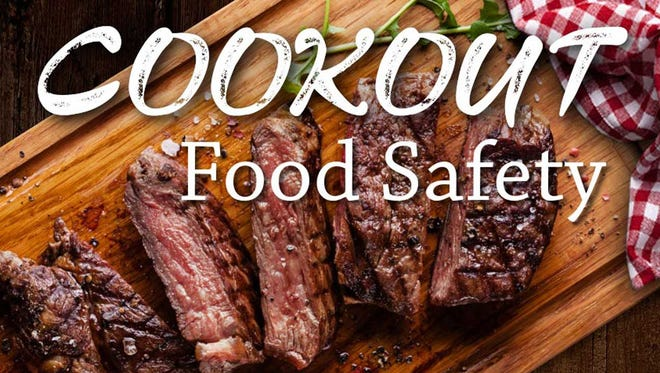 Food safety tips for your cookout