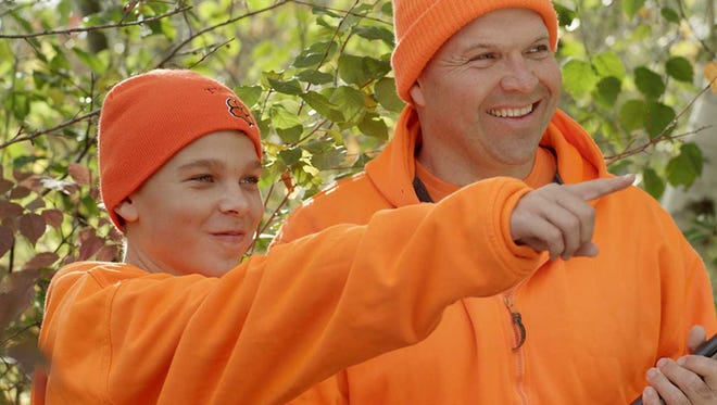 In 1980, hunters were required to wear blaze orange during gun-deer hunts  and the number of firearm incidents dropped dramatically.