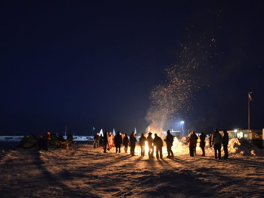 A bonfire will be part of the annual Sturgeon Stampede.