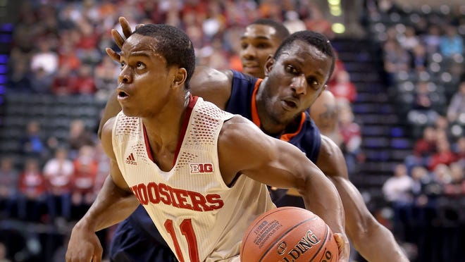 Yogi Ferrell will be counted on to carry the load for the Hoosiers this season.