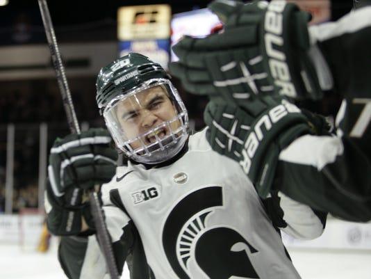 MSU vs Minnesota Hockey