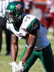 Mississippi Valley State receiver Julian Stafford doesn't expect college football players to get paid.