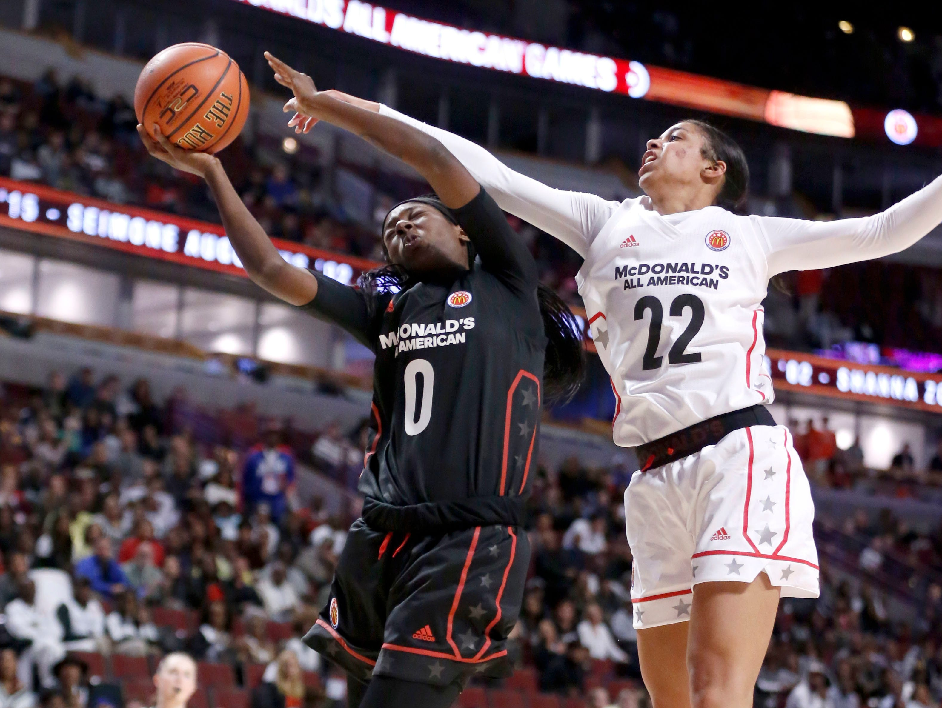 f8c2f2cc11d1 Lady Vols signees have their moments in McDonald s All-American game ...