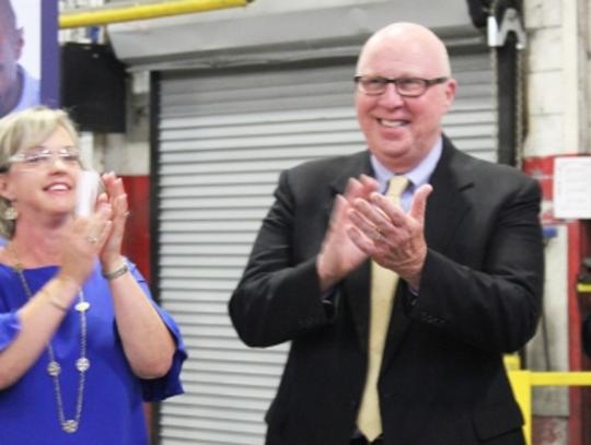 Springfield Mayor Ann Schneider and Robertson County