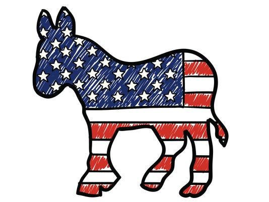 Democratic Party Donkey sketch