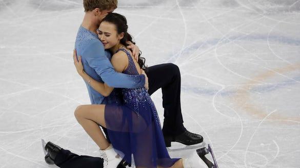 AP PYEONGCHANG OLYMPICS FIGURE SKATING ICE DANCE S OLY FIG KOR