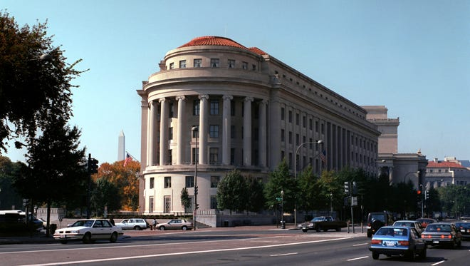 The Federal Trade Commisssion building.