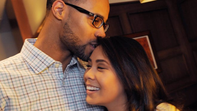 Terrence Williams II, 24, proposed to his girlfriend Catie Keomahaveong, 26 in Neal Rubin's column in Wednesday's Detroit News. She said yes.