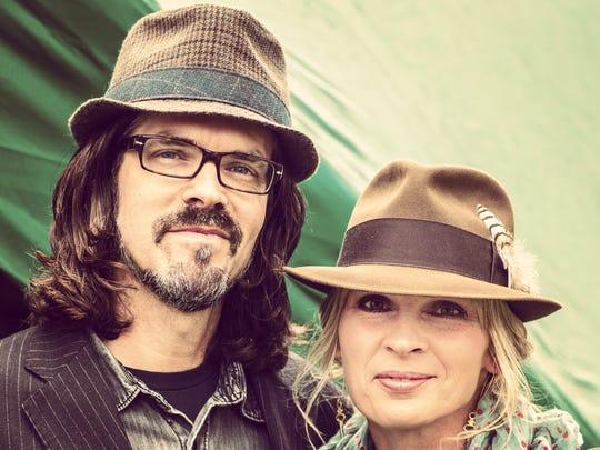 Linford Detweiler and Karin Bergquist, a.k.a. Over