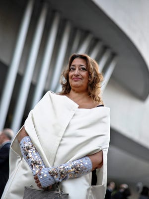 Dame Zaha Hadid died at the age of 65 from a heart attack, her company said on March 31.