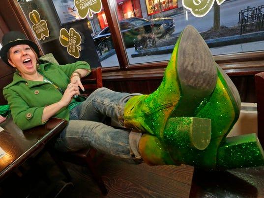 St. Patrick's Day Mo's