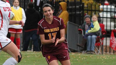 ASU's Cali Farquharson was the No. 12 pick overall in the NWSL draft by the Washington Spirit.