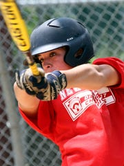 The Somerset Hills 12-year-old Little League Baseball team has reached the New Jersey State Tournament and is one of just four teams from New Jersey still alive. Head coach is Karl Petersen, July 22 2014. Bernardsville NJ. photo by Kathy Johnson BRI 0723 Little League