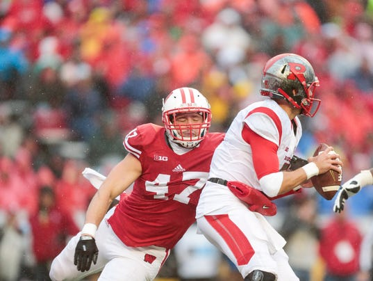 Vince Biegel, Chris Laviano