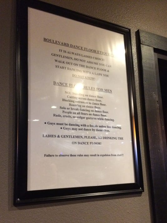 Previous sign at Wichita Falls nightclub