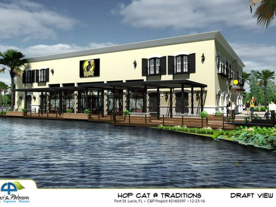 Rendering for HopCat's planned Tradition location
