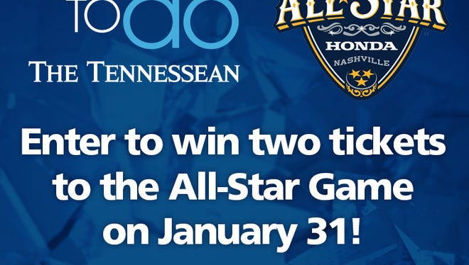 Download the Tennessean's Things to Do app for a chance to win two tickets to the NHL ALL-Star game.