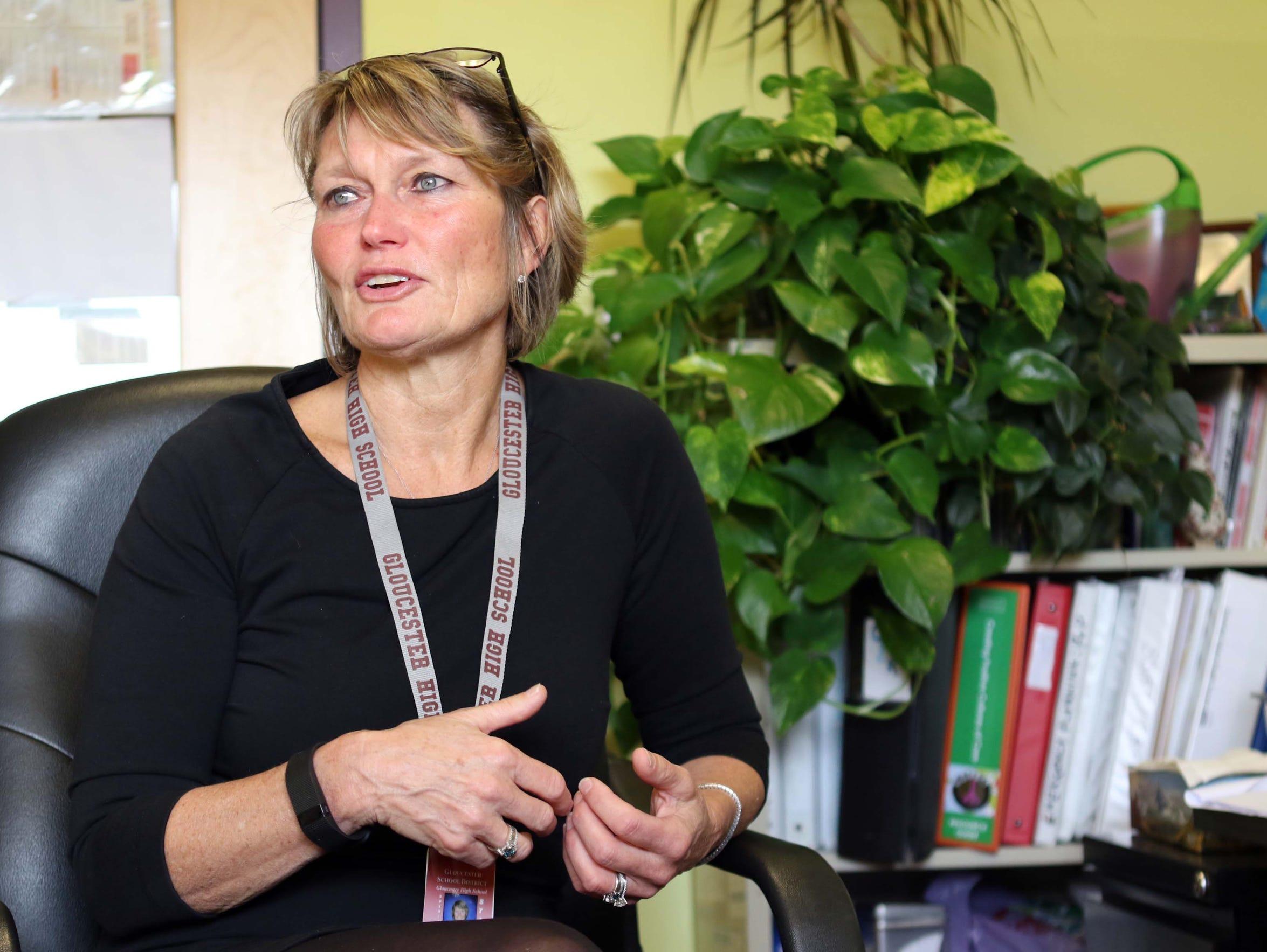 Cindy Juncker, a nurse leader for the Gloucester Public
