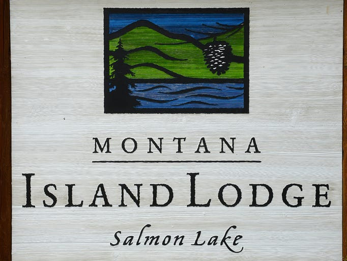 Montana Island Lodge on Salmon Lake.