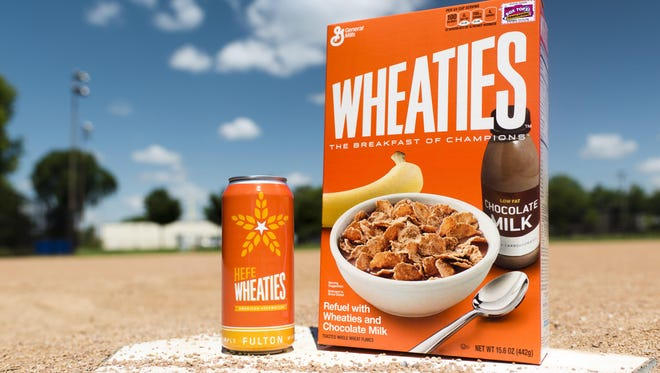 General Mills Inc. and Fulton Beer are collaborating to make a Wheaties-themed beer called HefeWheaties.