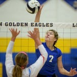 Class 2A volleyball sectional at Lincoln Saturday