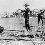 This photo of Long George Francis was taken at the Great Northern Montana Stampede in Havre.