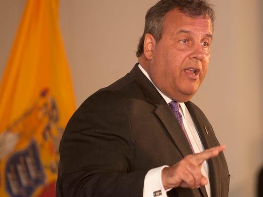 Gov. Chris Christie said the 2012 Urban Hope Act establishing