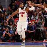 Pistons Andre Drummond, Stanley Johnson show funny sides in game show
