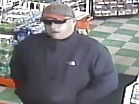 Man accused of robbing gas station